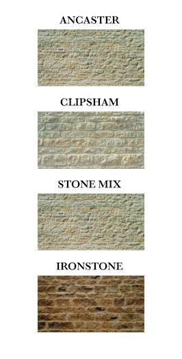 Ancaster Limestone, Clipsham Limestone, Ironstone Limestone, and Stone Mix Limestone Walling Stone Walls