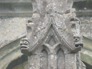 lincolnshire limestone stone finial on church