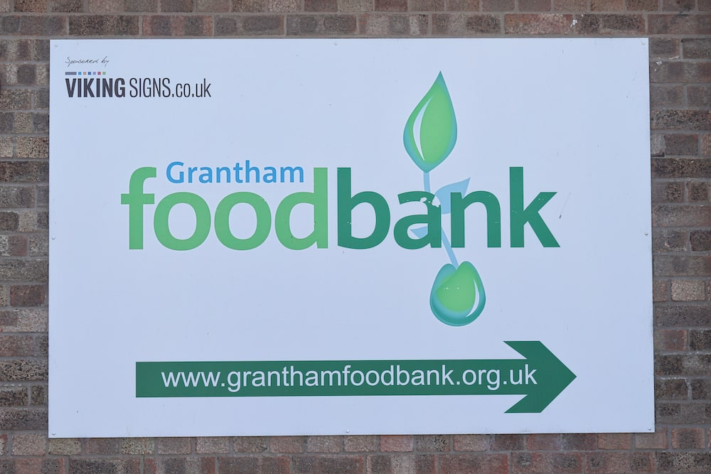 Grantham food bank