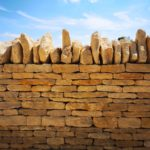 Wall With Capping Stones