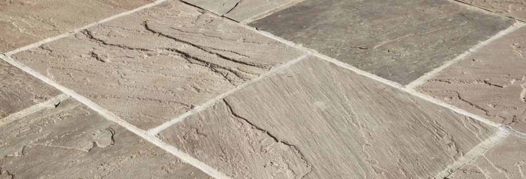 Natural stone flooring and paving